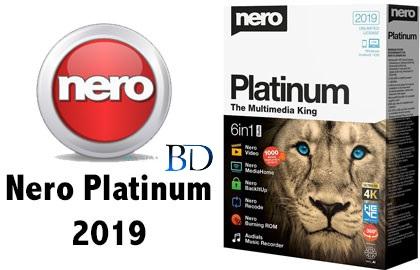 دانلود نرو ۲۰۱۹ – Nero Platinum 2019 Suite v20.0.05000 + آموزش نصب کامل